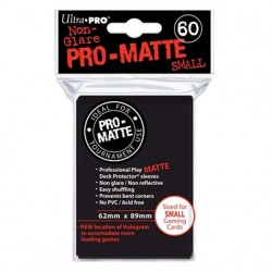 (par 60) Ultra Pro-Matte Noir Small Protèges Cartes