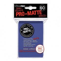 (par 60) Ultra Pro-Matte Bleu Small Protèges Cartes