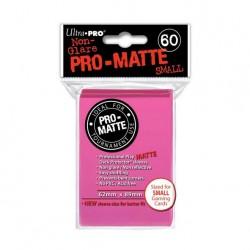 (par 60) Ultra Pro-Matte Rose Brillant Small Protèges Cartes