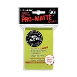 (par 60) Ultra Pro-Matte Jaune Brillant Small Protèges Cartes