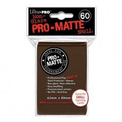 (par 60) Ultra Pro-Matte Marron Small Protèges Cartes