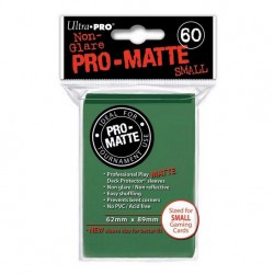 (par 60) Ultra Pro-Matte Vert Small Protèges Cartes