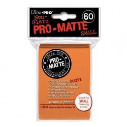(par 60) Ultra Pro-Matte Orange Small Protèges Cartes