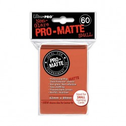 (par 60) Ultra Pro-Matte Pêche Small Protèges Cartes