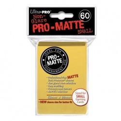 (par 60) Ultra Pro-Matte Jaune Small Protèges Cartes