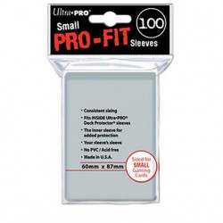 (par 100) Ultra Pro-Fit Small Protèges Cartes