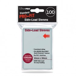 (par 100) Ultra Pro-Fit Standard Side Load Protèges Cartes