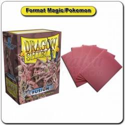 (Par 100) Dragon Shield Fusion Standard Protèges Cartes