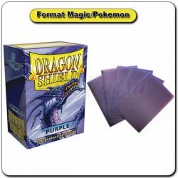 (Par 100) Dragon Shield Violet Standard Protèges Cartes