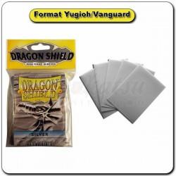 (Par 50) Dragon Shield Argent Small Protèges Cartes