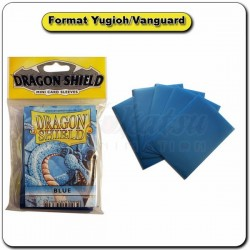 (Par 50) Dragon Shield Bleu Small Protèges Cartes