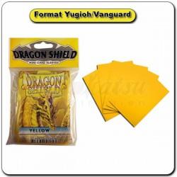 (Par 50) Dragon Shield Jaune Small Protèges Cartes