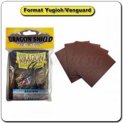 (Par 50) Dragon Shield Marron Small Protèges Cartes