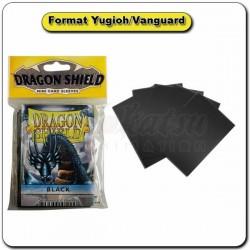 (Par 50) Dragon Shield Noir Small Protèges Cartes