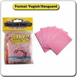 (Par 50) Dragon Shield Rose Small Protèges Cartes