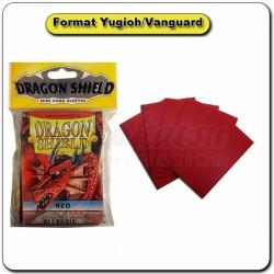 (Par 50) Dragon Shield Rouge Small Protèges Cartes