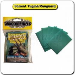 (Par 50) Dragon Shield Vert Small Protèges Cartes