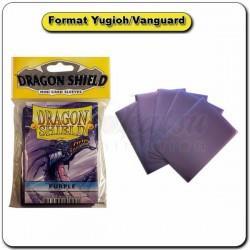 (Par 50) Dragon Shield Violet Small Protèges Cartes