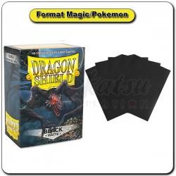 (Par 100) Dragon Shield Matte Noir Standard Protèges Cartes