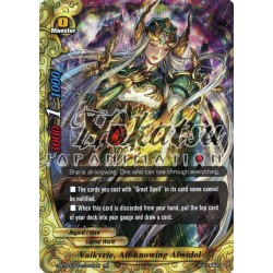 BFE D-BT02A-SS02/0002EN RR Valkyrie, All-knowing Alwidol