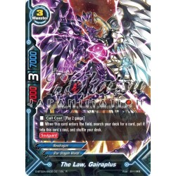 BFE F-D-BT02A-SS02/0011EN Foil/R The Law, Gairaplus