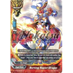 BFE D-BT03/0023EN R Burning Rapier Dragon