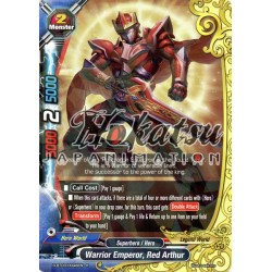 BFE D-BT03/0046EN R Warrior Emperor, Red Arthur