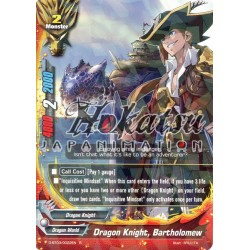 BFE F-D-BT03/0022EN Foil/R Dragon Knight, Bartholomew