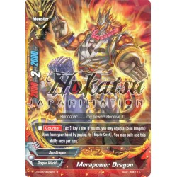 BFE F-D-BT03/0024EN Foil/R Merapower Dragon