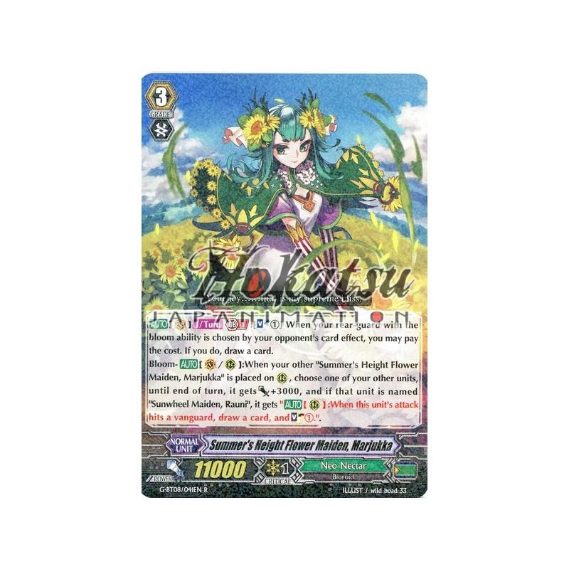 SUMMER/'S HEIGHT FLOWER MAIDEN CARDFIGHT VANGUARD CARD MARJUKKA  G-BT08//041EN R
