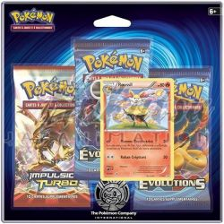 Pack 3 boosters Pokémon XY12 Evolutions
