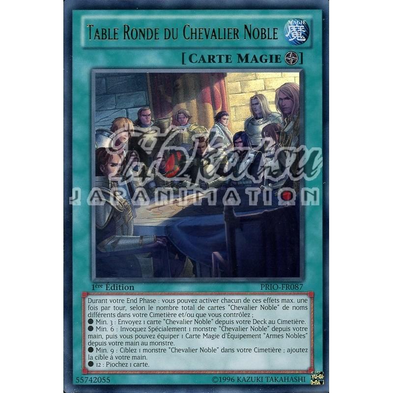 Acquisto prio fr087 nobili cavalieri della tavola rotonda origine primordiale yu gi oh hokatsu - Numero cavalieri tavola rotonda ...