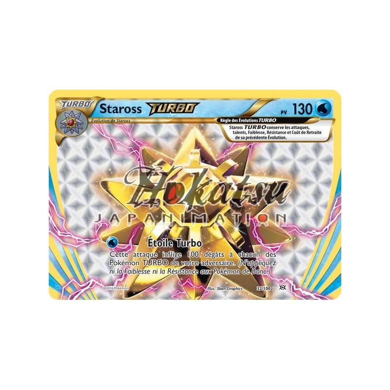 Starmie Break Break Rare Pokemon Card XY12 Evolutions 32//108