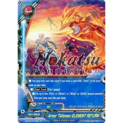 BFE D-BT04/0044EN R Armor Talisman: ELEMENT RETURN