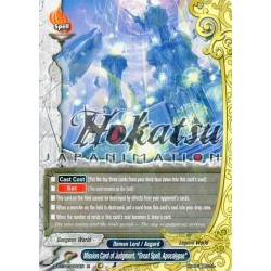 "BFE D-BT04/0050EN R Mission Card of Judgment ""Great Spell, Apocalypse"""
