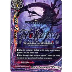 BFE D-BT04/0062EN U Black Downpour, Zicron