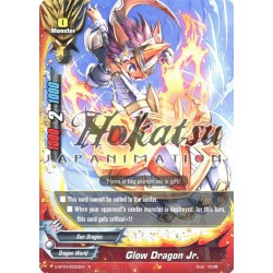 BFE F-D-BT04/0023EN Foil/R Glow Dragon Jr.