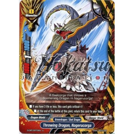 BFE D-CBT/0073EN U Throwing Dragon, Nagerucorga