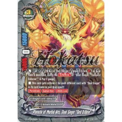 "BFE F-D-CBT/0028EN Foil/R Pinnacle of Martial Arts, Duel Sieger ""God Eclipse"""