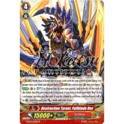 CFV G-BT10/030EN R  Destruction Tyrant, Full Bladerex