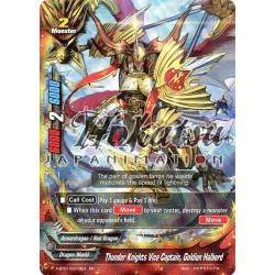BFE X-BT01/0010EN RR Thunder Knights Vice Captain, Goldion Halberd