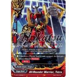 BFE X-BT01/0085EN C All-Rounder Warrior, Tetra
