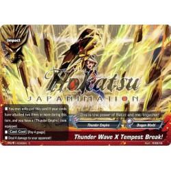 BFE X-BT01/0090EN C Thunder Wave X Tempest Break!