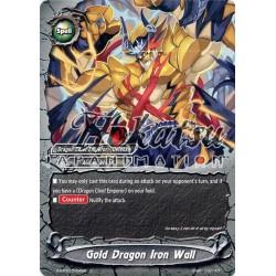 BFE X-BT01/0104EN C Gold Dragon Iron Wall