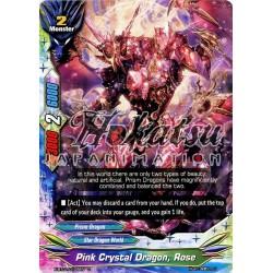 BFE X-BT01/0108EN C Pink Crystal Dragon, Rose
