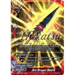BFE X-BT01/0117EN SECRET Arc Dragon Sword