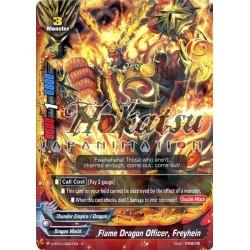 BFE X-BT01/0021EN Foil/R Flame Dragon Officer, Freyhein