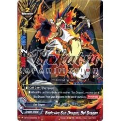 BFE X-BT01/0022EN Foil/R Explosive Sun Dragon, Bal Dragon