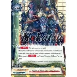 BFE X-BT01/0037EN Foil/R House of Assassins, Oni Convoy