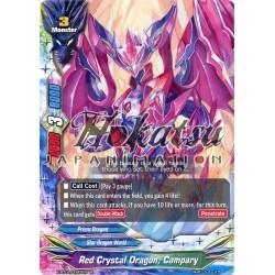 BFE X-BT01/0043EN Foil/R Red Crystal Dragon, Campary